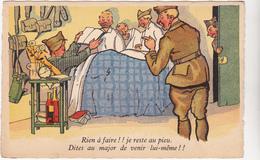 Ed Sepheriades  - Militaire Humour Reste Au Pieu  - CPSM 9x14 BE Neuve - Humoristiques