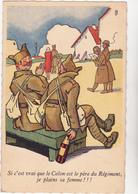 Ed Sepheriades  - Militaire Humour Colon Est Le Père Du Regiment  - CPSM 9x14 TBE Neuve - Humoristiques