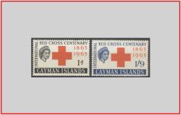 Cayman 1963 - Cat. 173/74 (MNH **/os) Croce Rossa - Red Cross (leggera Ossidazione) (010931) - Cayman Islands