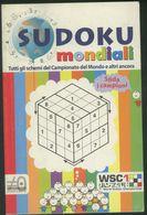 LIBRO SUDOKU MONDIALI - Giochi