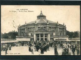 CPA - AMIENS - Le Cirque - Sortie D'une Matinée, Très Animé - Amiens