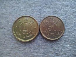 Japan  1 Yen And 50 Sen  1947---50 - Japan