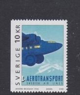 FLIGHT HISTORY AVIATION - SWEDISH AIR LINES SWEDEN SUEDE SCHWEDEN 2003 Mnh ** Mi 2339 ART OLD POSTER PLAKAT AFFICHE - Flugzeuge