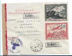 FPII001 /  Spendevignette Für Die Legion Mit Warschauer Entwertung 1944 Nach Frankreich  OHNE Feldpostfreiheit. SELTRN - Other
