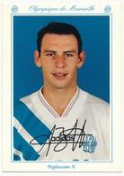 CPM - Olympique De Marseille OM  (93-94) - Alain BOGHOSSIAN - Football
