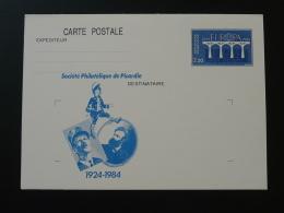 80 Somme Général Leclerc Jules Verne Entier Postal Europa Stationery Card - 2. Weltkrieg
