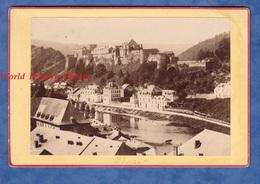 Photo Ancienne Avant 1900 - BOUILLON ( Belgique ) - Vue Sur Le Château - Province De Luxembourg - Canal Semois - Foto