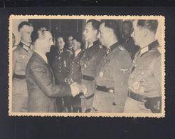 Dt. Reich AK Goebbels Und Militär/ SS Totenkopf Div.  Vom Spezial-Fonds Des Sowjet-Ukrainischen Innenminnisteriums - Historische Persönlichkeiten