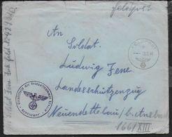 POSTA MILITARE IN FRANCHIGIA - FELDPOST B -18.06.1941 - ANNULLO DIENSTSTELLE DER FELDPOSTNUMMER 42932H - Allemagne