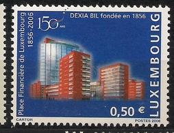 2006  Luxemburg Mi. 1716-7**MNH  150 Jahre Finanzplatz Luxemburg. - Luxemburg