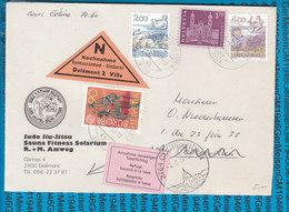 Switserland -  Nachnahme Cover / 2800 Delemont 2 Ville - Ganzsachen