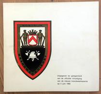 Brandweer Kortrijk: Uitgave Ter Gelegenheid Van De Inhulding Van De Nieuwe Brandweerkazerne, 5 Juni 1982 - Books, Magazines, Comics