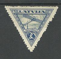 LETTLAND Latvia 1921 Michel 76 A * - Latvia