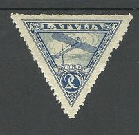 LETTLAND Latvia 1921 Michel 76 A * - Lettonie