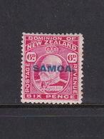 Samoa SG 119 1914 New Zealand Stamp Overprinted,six Penny Red,Mint Hinged - Samoa