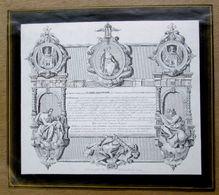 """Rouwprent / Doodsbericht """"Jacques Joseph Baligand, Lokeren 1777, Gent 1842 - Alte Papiere"""