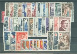 France  Année Complète 1954  * *  TB - 1950-1959