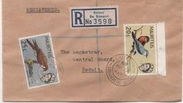 ILE MAURICE  RECOMMANDE  BUREAU  RIVIERE DU REMPART - Mauritius (1968-...)