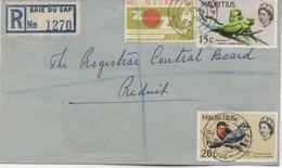 ILE MAURICE  RECOMMANDE  BUREAU  BAIE DU CAP - Mauritius (1968-...)
