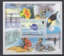 British Antarctic Territory 1996 Scar  M/s ** Mnh (39941) - Brits Antarctisch Territorium  (BAT)