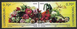 2006  Luxemburg Mi. 1728-9**MNH 75 Jahre Luxemburgische Gartenbauvereinigung. - Luxembourg