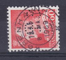 Denmark Perfin Perforé Lochung (L18) 'LB Vt' Landmandsbanken, Vesterbro Torv, København Fr. IX Stamp (2 Scans) - Abarten Und Kuriositäten