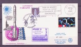 ESPACE - ARIANE Vol Du 1989/04 V30 - Conseil De L'Europe - 1 Document - Europe
