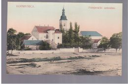 CROATIA Koprivnica Franjevacki Samostan Ca 1905 OLD POSTCARD 2 Scans - Kroatië
