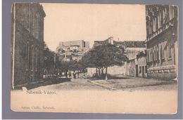 CROATIA Sebenico Sibenik Varoš Ca 1905 OLD POSTCARD 2 Scans - Kroatië