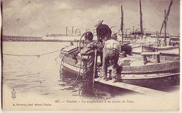 83 207 TOULON Le Scaphandrier à La Sortie De L'Eau - Toulon