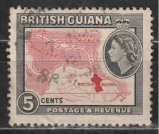 Guiana Britannica 1954 Map - Mappe | Regine - British Guiana (...-1966)
