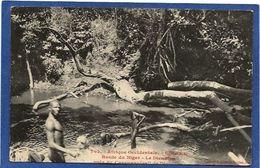 CPA Guinée Type Ethnic Afrique Noire Non Circulé - Guinée Française