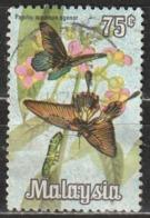 Malesia 1970 Great Mormon (Papilio Memnon) - Animali (Fauna) | Farfalle | Insetti - Malesia (1964-...)