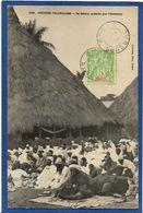CPA Guinée Type Ethnic Afrique Noire Timbrée Non Circulé - Guinée Française