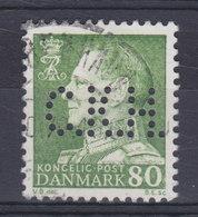 Denmark Perfin Perforé Lochung (C38) 'C.K.H.' C. K. Hansen, København Fr. IX. Stamp (2 Scans) - Abarten Und Kuriositäten