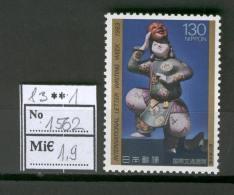 Japan D24 MNH 1983 1v Letter Writing Week - Japan