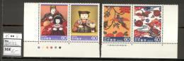 Japan D27 MNH 1985 4v Traditional Crafts CV 6 Eur - Giappone