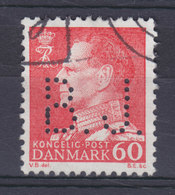 Denmark Perfin Perforé Lochung (B26) 'B.J.' Brdr. Justesen, København Fr. IX. Stamp Perfin ERROR Variety I 'B' (2 Scans) - Abarten Und Kuriositäten