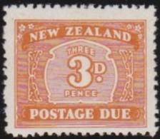 New Zealand    .     SG   .     D  47aw               .       *   .    Mint-hinged   .   /   .   Ongebruikt - Strafport