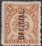 New Zealand    .     SG   .     O  63               .       *   .    Mint-hinged   .   /   .   Ongebruikt - Dienstzegels