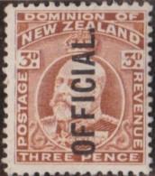 New Zealand    .     SG   .     O  74              .       *   .    Mint-hinged   .   /   .   Ongebruikt - Dienstzegels