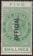 New Zealand    .     SG   .     O  83       .       *   .    Mint-hinged   .   /   .   Ongebruikt - Dienstzegels