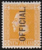 New Zealand    .     SG   .     O  92          .       *   .    Mint-hinged   .   /   .   Ongebruikt - Officials