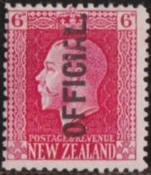 New Zealand    .     SG   .     O  102         .       *   .    Mint-hinged   .   /   .   Ongebruikt - Dienstzegels
