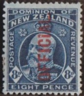 New Zealand    .     SG   .     O  76b        .       *   .    Mint-hinged   .   /   .   Ongebruikt - Dienstzegels