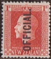 New Zealand    .     SG   .     O  105        .       *   .    Mint-hinged   .   /   .   Ongebruikt - Dienstzegels