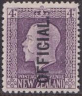 New Zealand    .     SG   .     O  101       .       *   .    Mint-hinged   .   /   .   Ongebruikt - Dienstzegels
