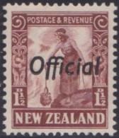 New Zealand    .     SG   .     O  116        .       *   .    Mint-hinged   .   /   .   Ongebruikt - Dienstzegels
