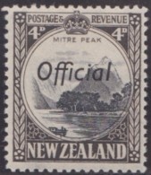 New Zealand    .     SG   .     O  146c         .       *   .    Mint-hinged   .   /   .   Ongebruikt - Dienstzegels