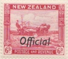 New Zealand    .     SG   .     O  127c         .       *   .    Mint-hinged   .   /   .   Ongebruikt - Dienstzegels
